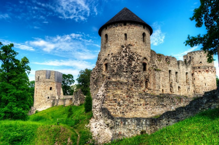 Top 10 Places to See in the Baltic States - Cesis, Latvia