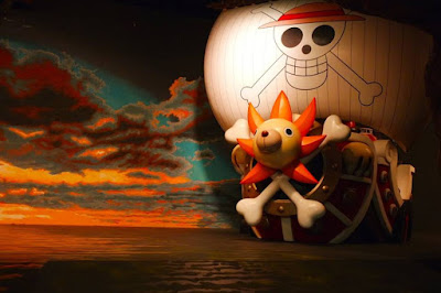 Thousand Sunny One Piece at Tokyo Tower Japan