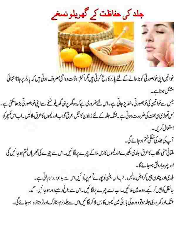 Beauty Tips Urdu for Fairness Download PDF format
