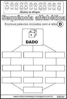 Sequência alfabética letra D