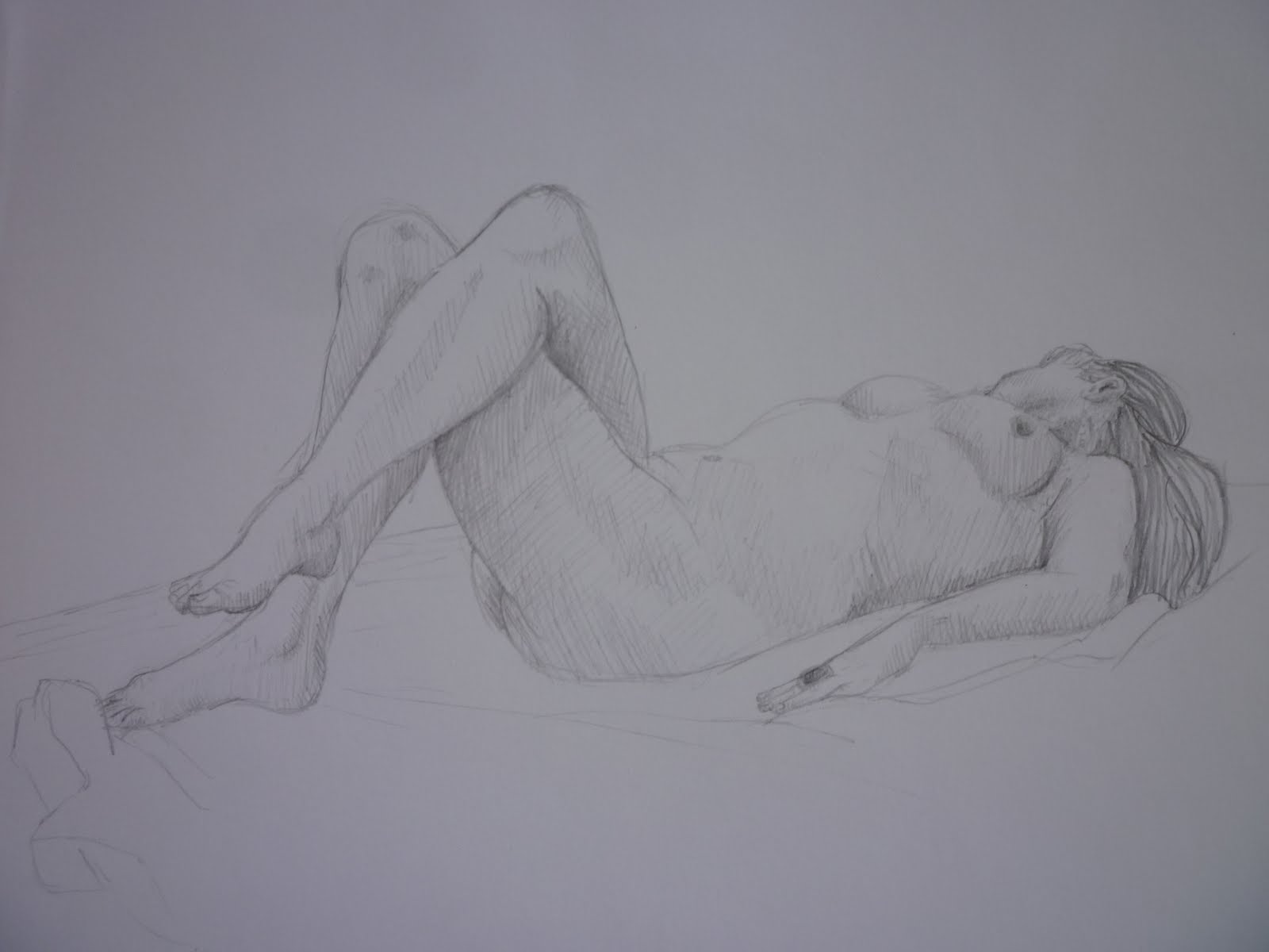 Fran Clark's OCA Logbook: PART FOUR: DRAWING FIGURES: Project: Structure