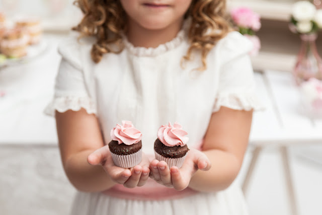 La Comunion de Noa Magazine - cupcake primera comunion