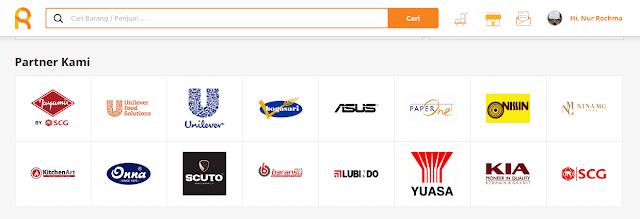 brand yang bekerjasama dengan situs rarali