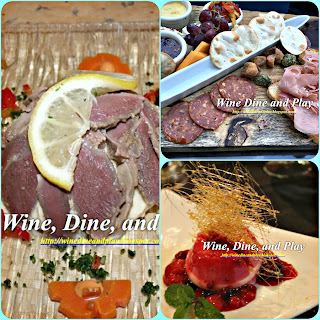 Classic French style bistro cuisine on Wine Dine And Play