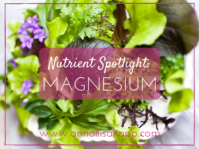 health benefits and signs of magnesium deficiency