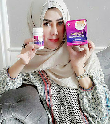 Testimoni sinensa beauty slim herbal ibu rafi ahmad