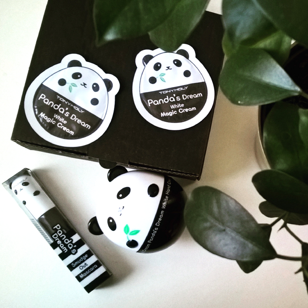 Tony Moly, Panda`s Dream krem do rąk + tusz do rzęs