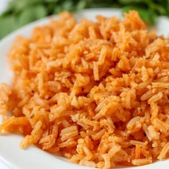 HOMEMADE SPANISH RICE RECIPE #Meal #MexicanFood
