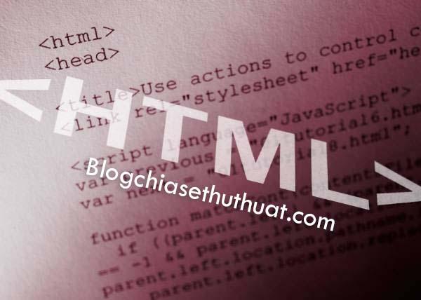 Những code thông dụng để viết HTML trong Blogspot