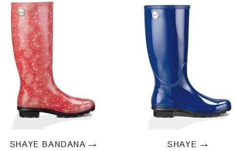 Shaye Bandana Rain Boot