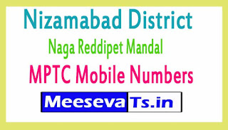 Naga Reddipet Mandal MPTC Mobile Numbers List Nizamabad District in Telangana State