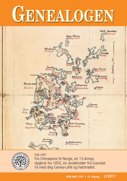 orknøyene kart Dag Trygsland Hoelseth: October 2017 orknøyene kart