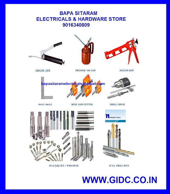 INDUSTRIAL HARDWARE GIDC 9408804567