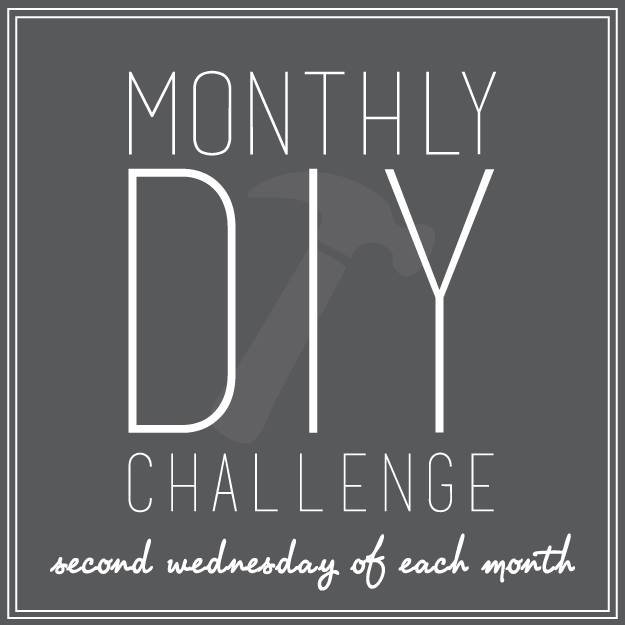 Monthly DIY Challenge- See what craft item we were challenged with this month!