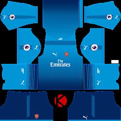 c0b4e191eed Dream League Soccer Kits 2018 Arsenal Goalkeeper - Happy Living