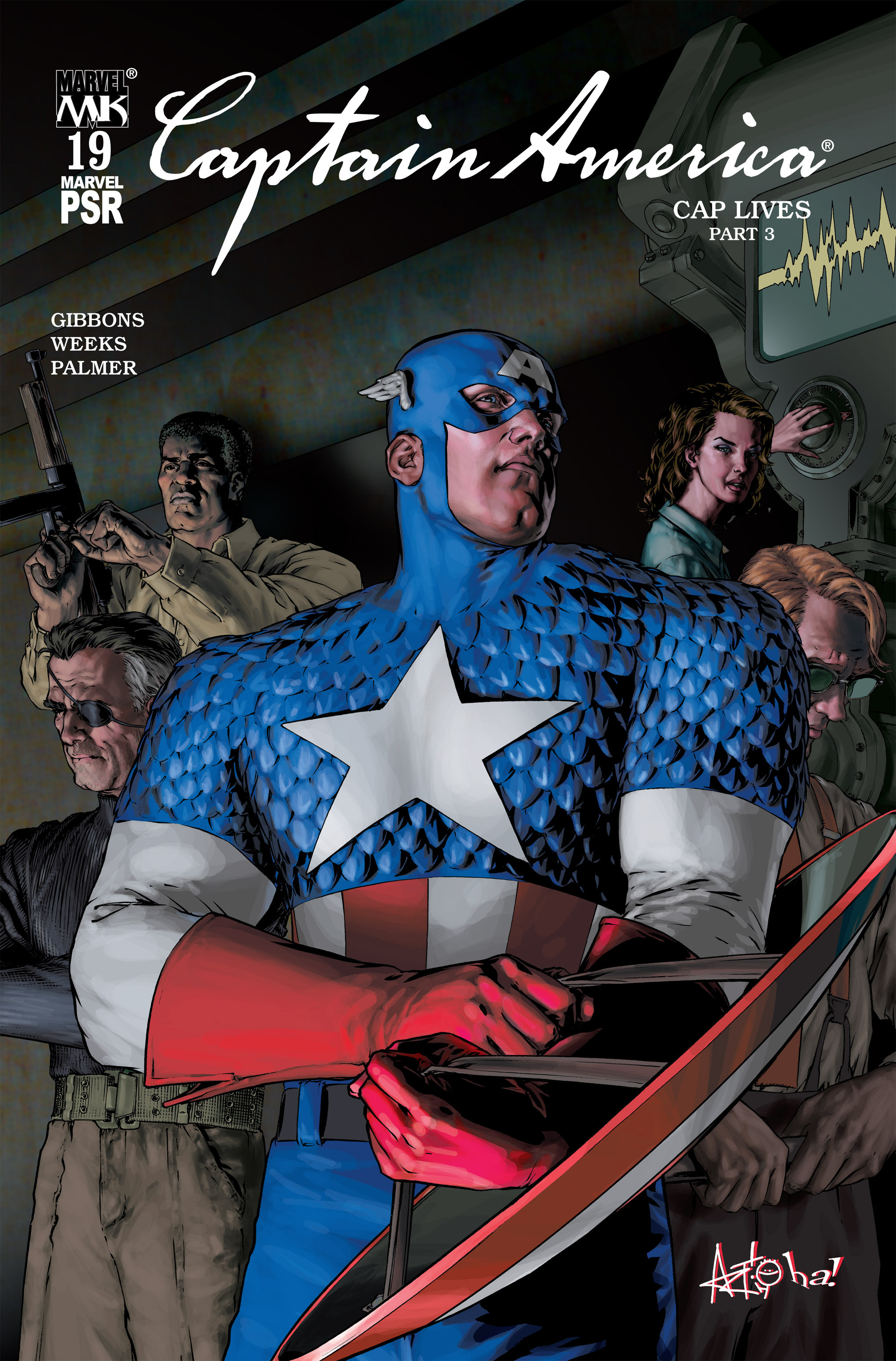 Captain America (2002) Issue #19 #20 - English 1