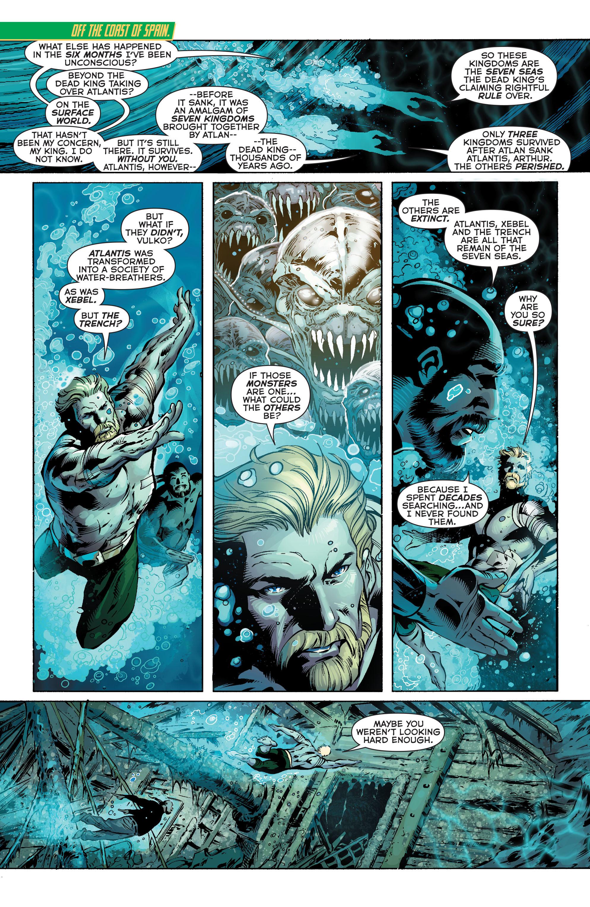 Read online Aquaman (2011) comic -  Issue #25 - 2