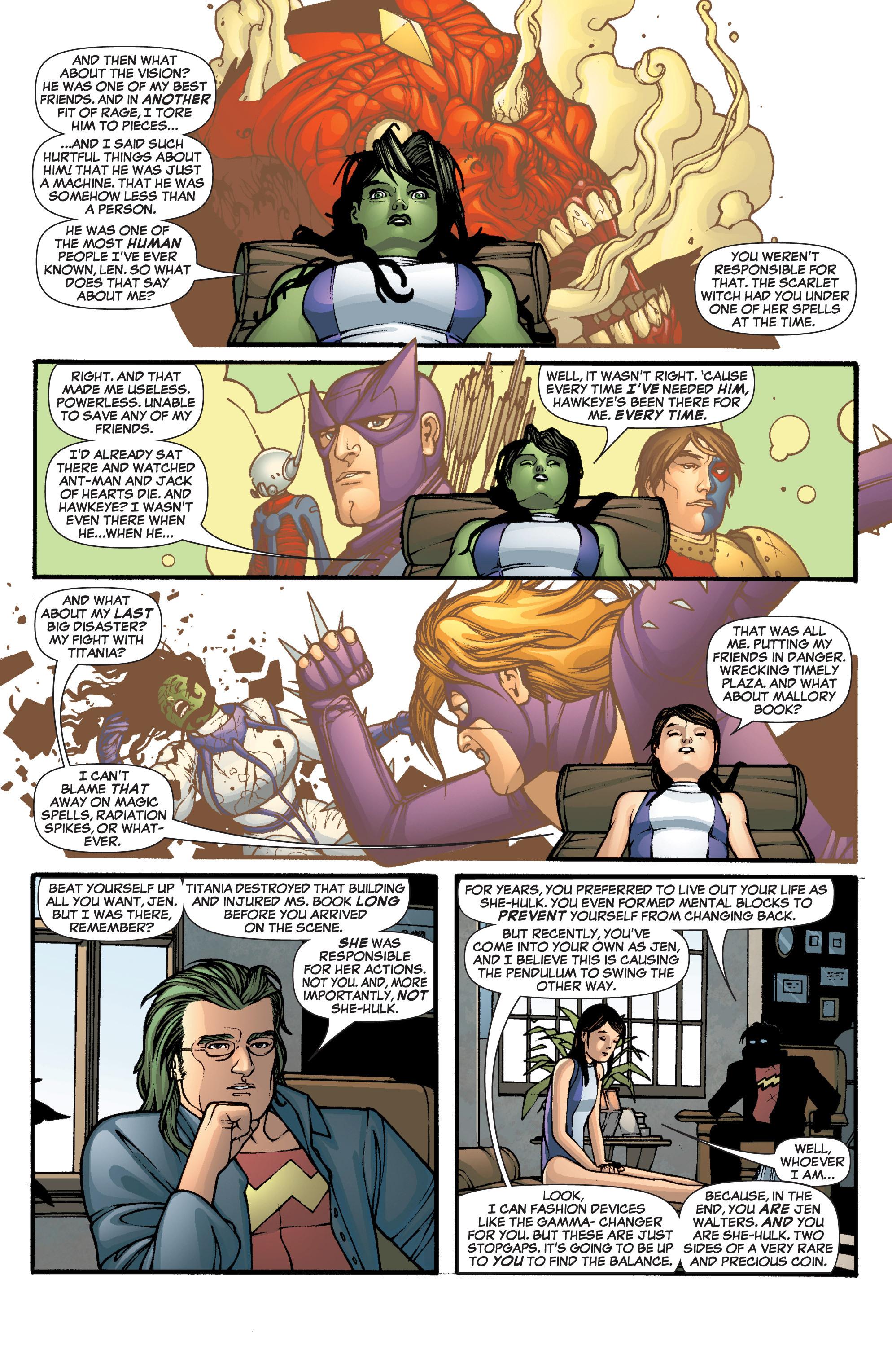 Read online She-Hulk (2005) comic -  Issue #1 - 18