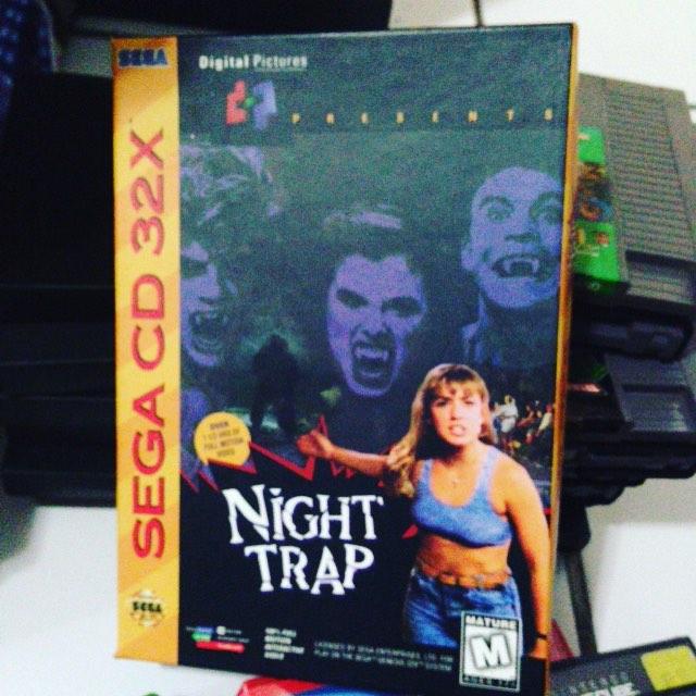 Game-bit of the day 430: Night Trap (Sega CD 32x)