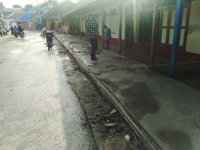 Penetapan PT Rikon Jaya Menataan Trotoar dan Drainase di Kota Saumlaki Sesuai Mekanisme