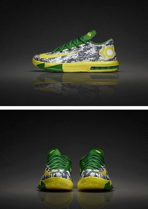 "online store 895c9 9657b THE SNEAKER ADDICT  Nike KD 6 + Hyperdunk 2013 ""Oregon Ducks Armed ..."