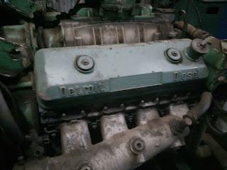 Detroit Inline, 240 HP, Kw, RPM, Hz