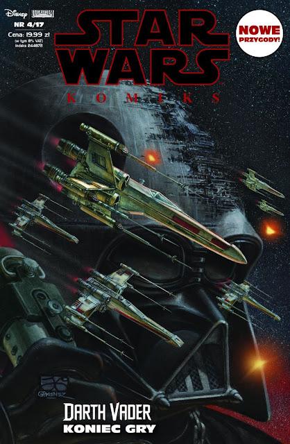 Star Wars Komiks (4/2017): Darth Vader: Koniec gry już w sprzedaży!