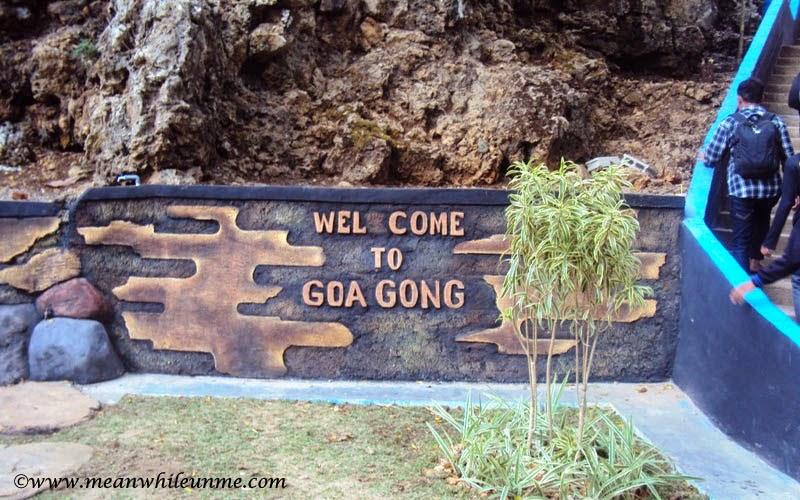 Pintu masuk Goa Gong, Pacitan