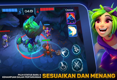 Download Mod Planet Of Heroes Action MOBA Apk Terbaru