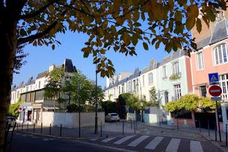 Paris : Rue Dieulafoy, expérimentation architecturale et couleurs pastel  - XIIIème