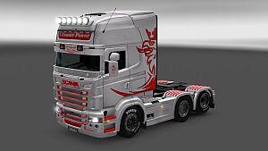 Ultimate Power skin for Scania RJL