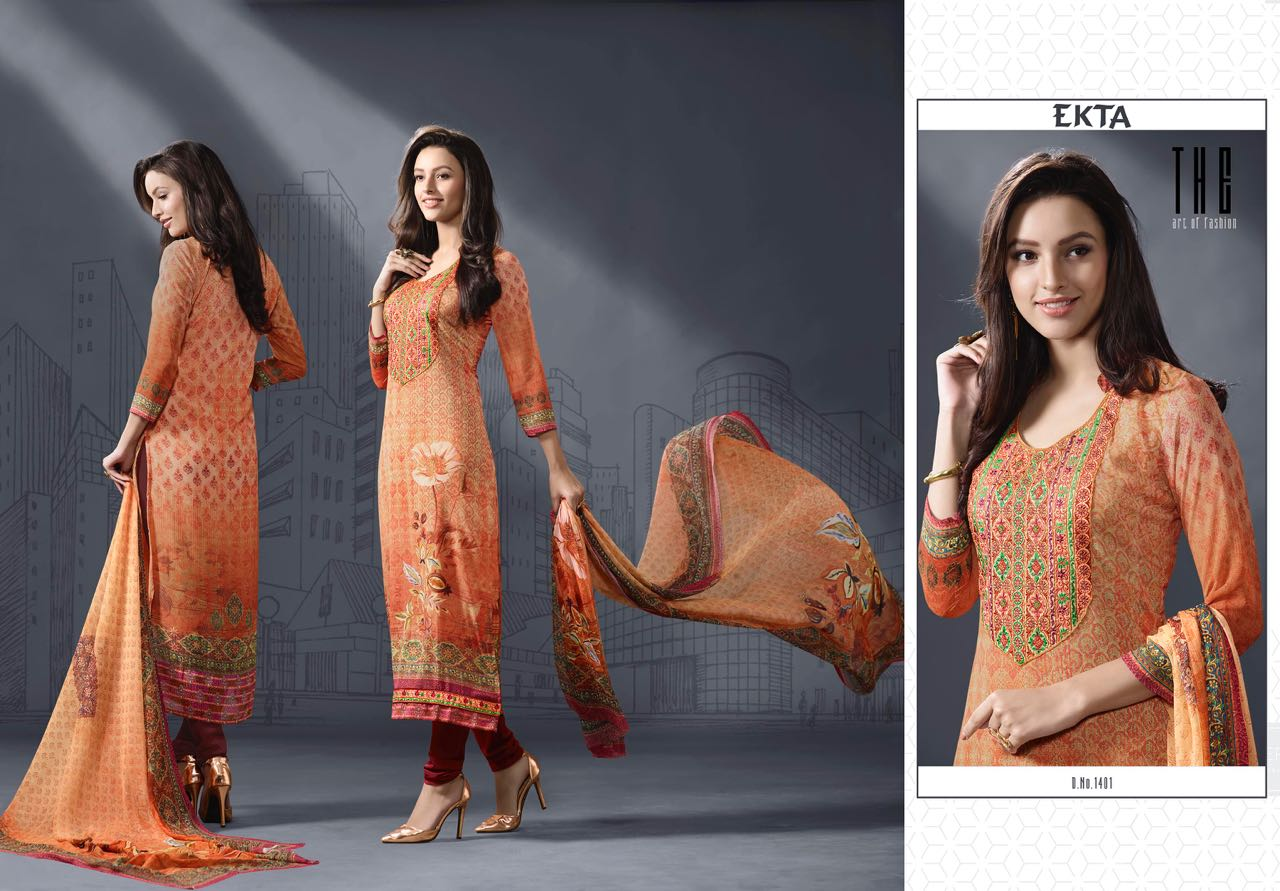 Ehsaas Vol 14 – Brilliant Stylish And Graceful Salwar Suit