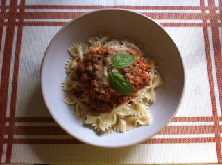 Ma sauce bolognaise boeuf et légumes