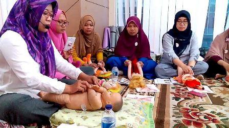 Pelatihan Mom, Kids & Baby Treatment rumah puspa bekasi