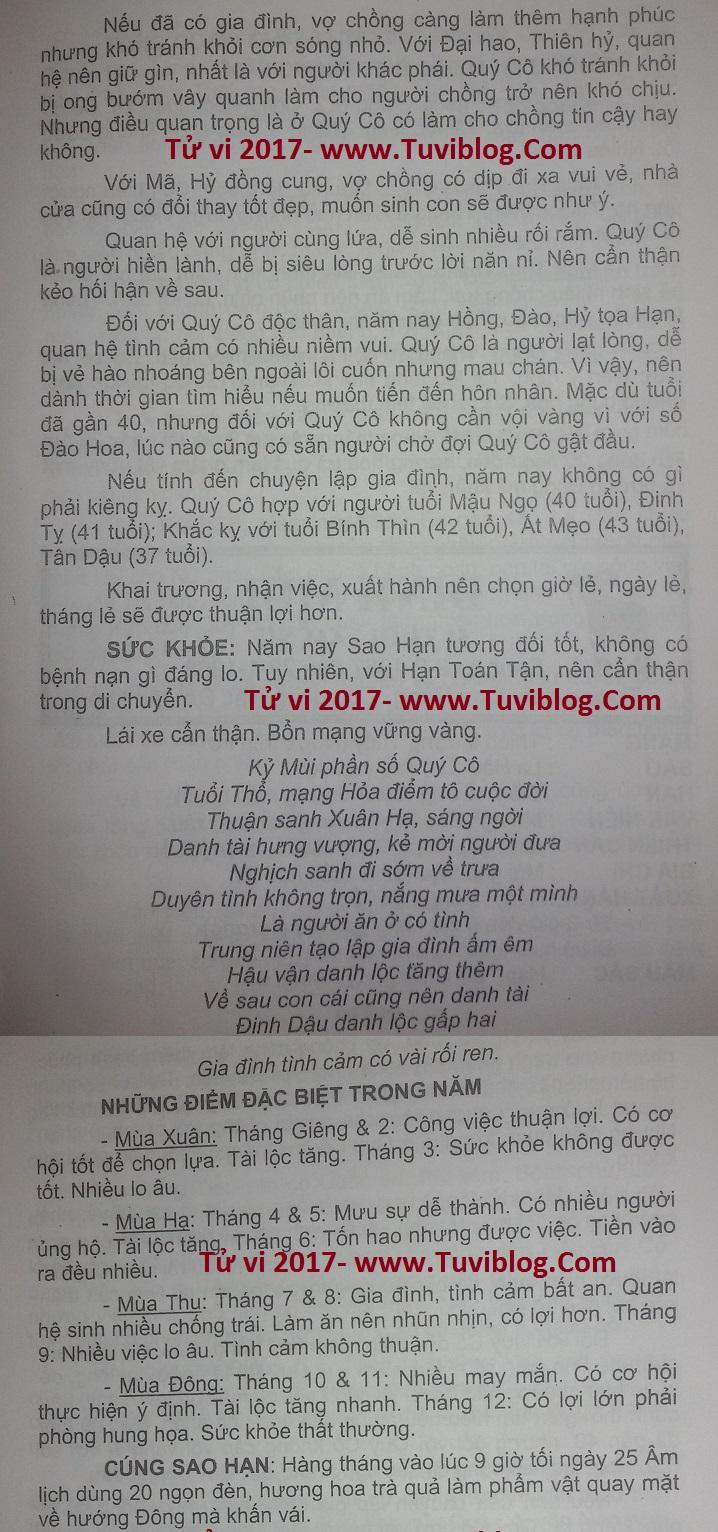 Ky Mui nu mang 1979 nam 2017