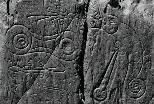 Des fortifications datant de « l'Âge Sombre » découvertes en Écosse