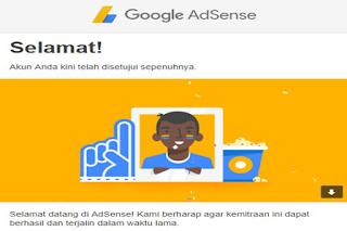 Daftar Adsense Full Approve 2017, Hanya Butuh Email Baru