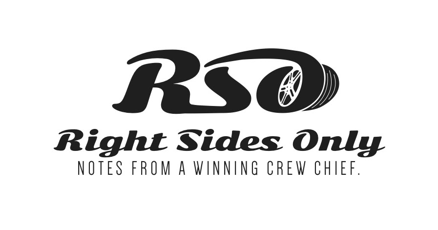 right sides only  notes from the stp 500 winning crew