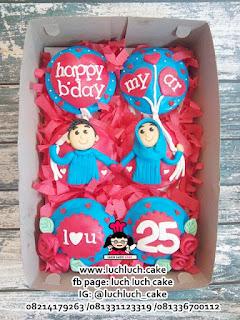 Cupcake Fondant 2d Anniversary