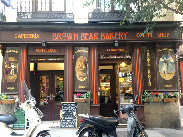 Brown Bear Bakery, Madrid