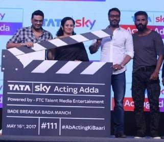 launch of Tata Sky's 'Acting Adda