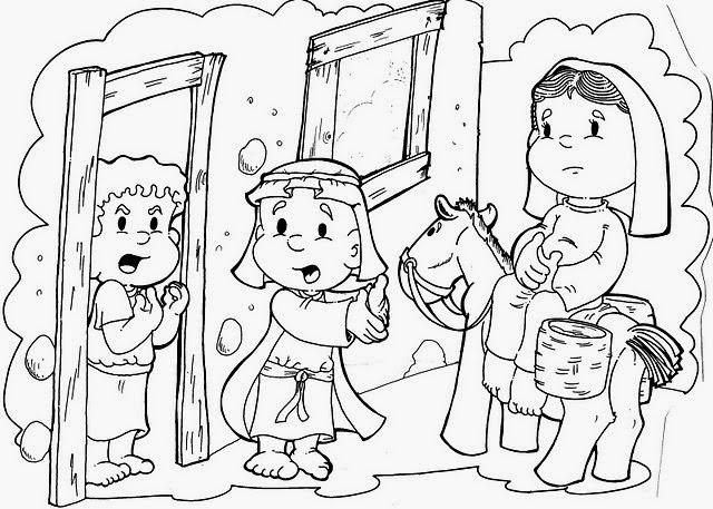 El Renuevo De Jehova Maria Y Jose Rumbo A Belen Imagenes Para