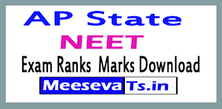 AP State NEET Ranks Results Download