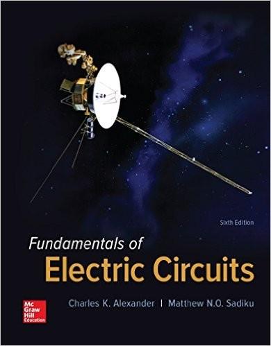 fundamentals of electric circuits 6th edition by charles kalexander and sadiku\u0027s \