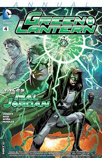 Os Novos 52! Lanterna Verde - Anual #4