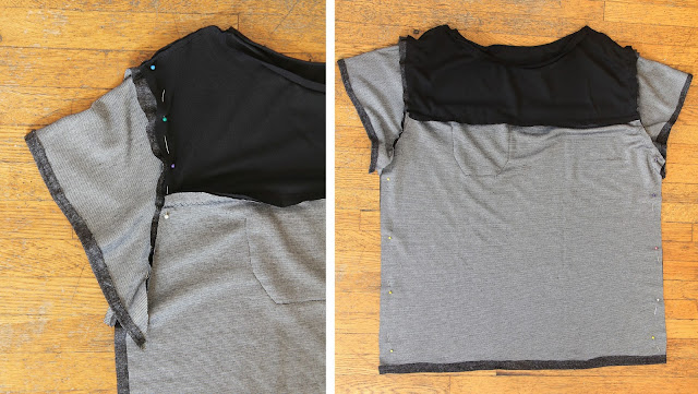 Make an easy, unique tee with this step-by-step tutorial