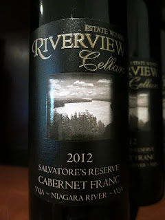 Riverview Cellars Salvatore's Reserve Cabernet Franc 2012 (88 pts)