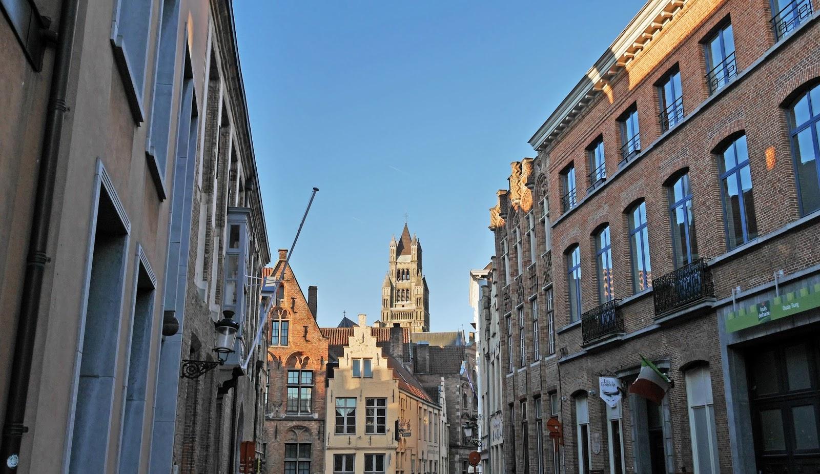 Streets of Bruges, Belgium