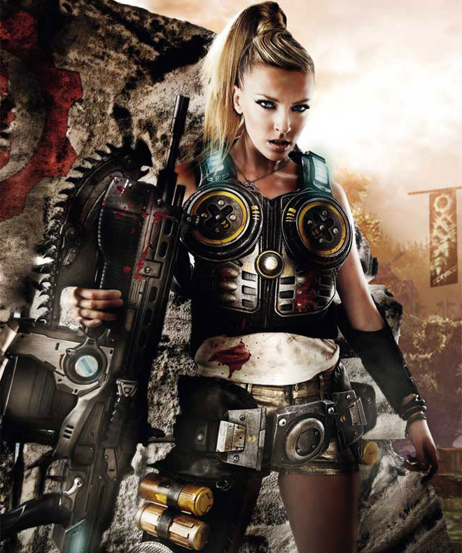Gears of war anya porn