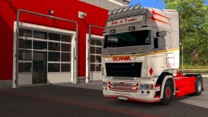 Gebr.De Kraker paint job for Scania RJL